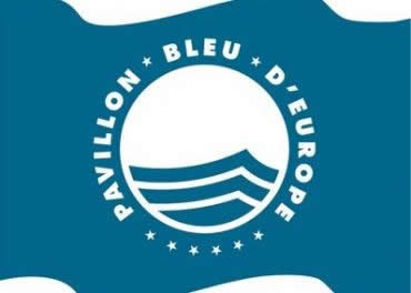 Pavillon Bleu - Blue Flag Beach in Normandy